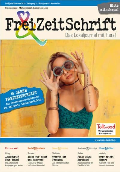 Veröffentlichung Freizeitschrift Heilpraxis Geltendorf